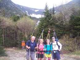 Family Trip up Tuckermans